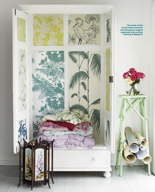 Patterned Wallpaper ~ Alternative Uses